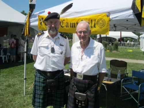 Clan Tent Ian Campbell - Bob Murray